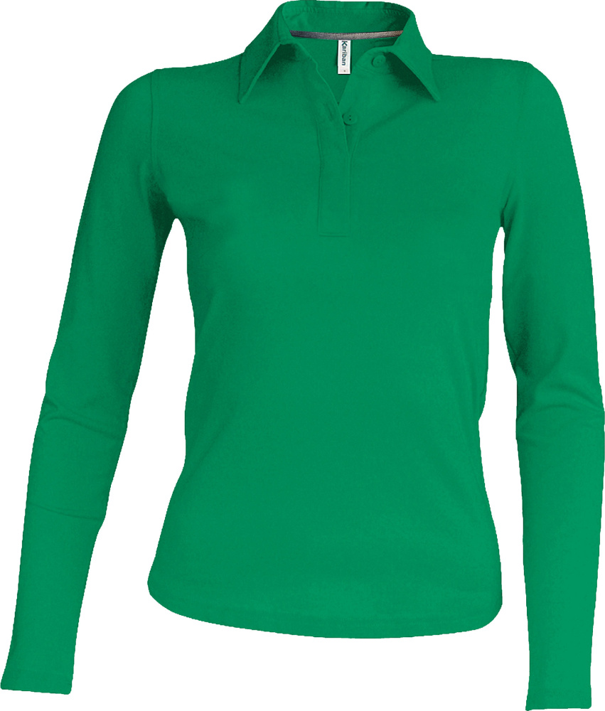 Kariban – Ladies Pique Polo Longsleeve