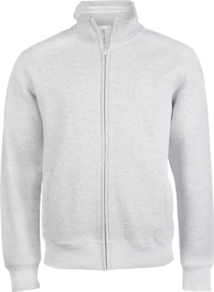 e7d3ffaf8 Mens Full Zip Fleece Jacket White