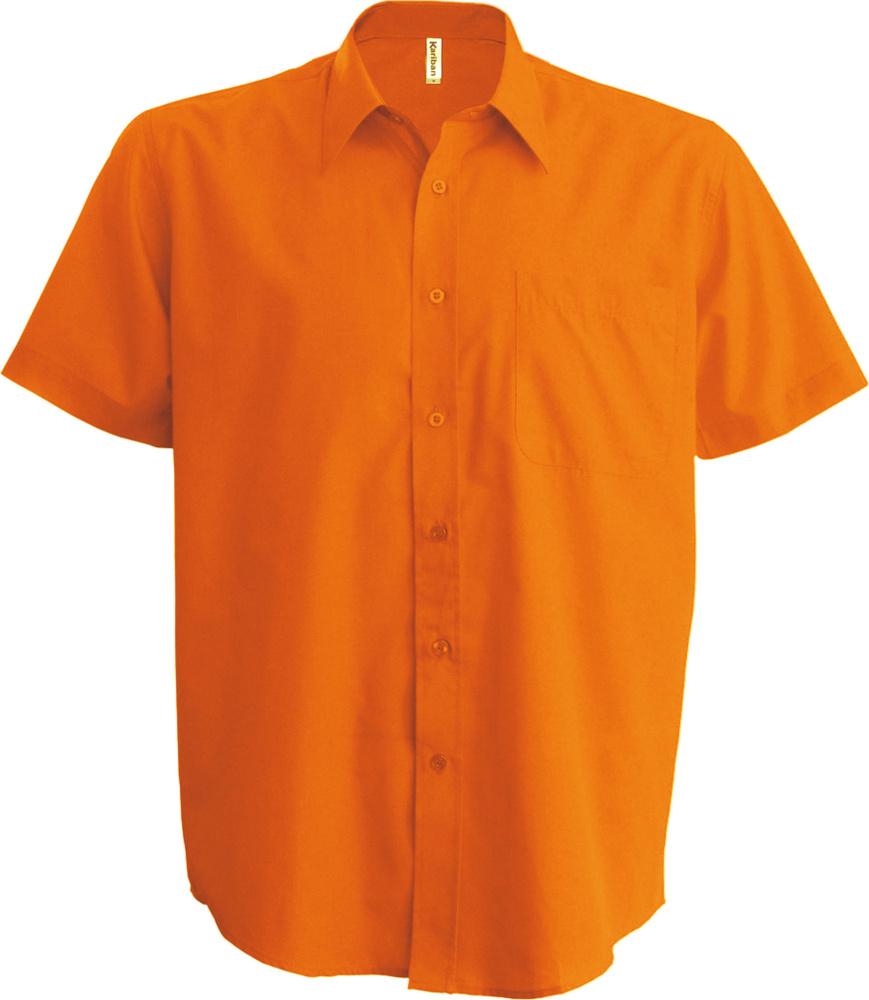 sale retailer f8732 878b3 Ace Pflegeleichtes Herren Kurzarm Popeline Hemd Orange