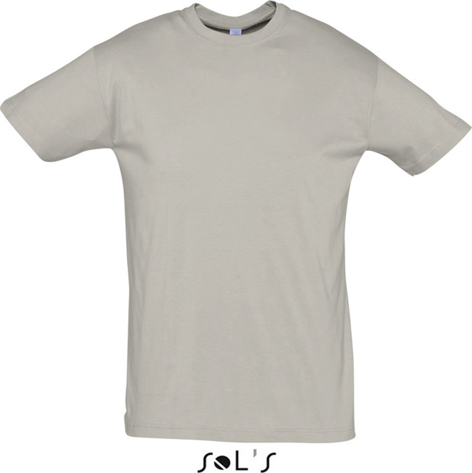 Regent t shirt 150 light grey for embroidery and for Sol s t shirt