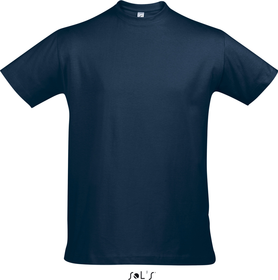 Imperial t shirt french navy for embroidery and printing for Sol s t shirt