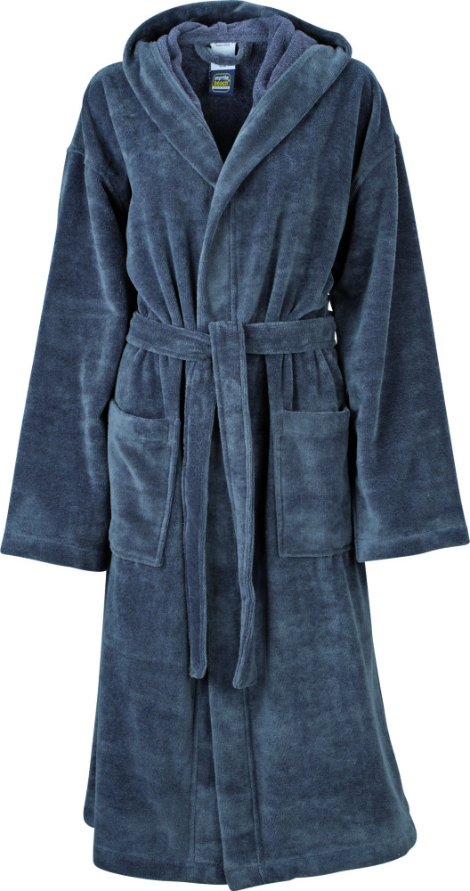 831c2a83de23fc Functional Bath Robe Hooded (Carbon) for embroidery - Myrtle Beach ...