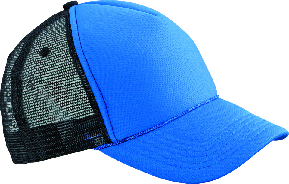 ad00511fcb0 Retro Mesh Cap (royal black) for embroidery and printing - Myrtle ...