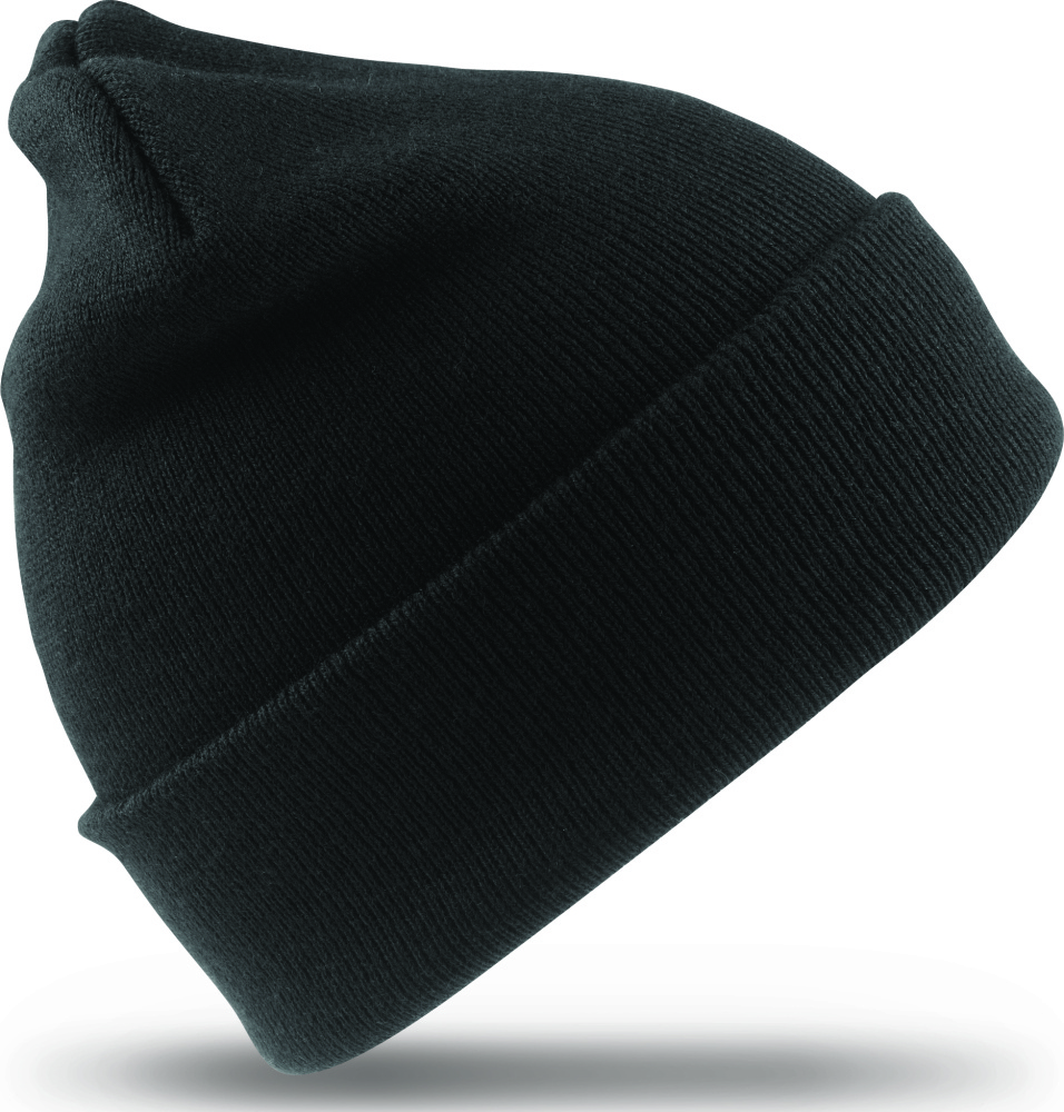 7909f803258 Woolly Ski Hat 3M™ Thinsulate™ (Black) for embroidery - Result ...