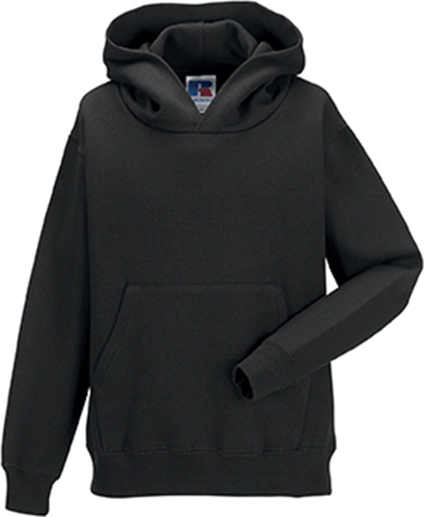 20c981e5e Children´s Hooded Sweatshirt (Black) for embroidery and printing ...