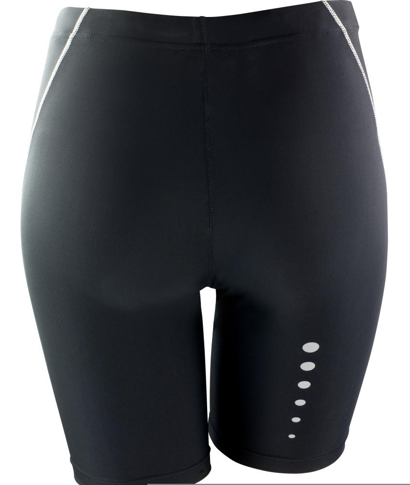 Spiro Ladies//Womens Sports Bodyfit Performance Base Layer Shorts