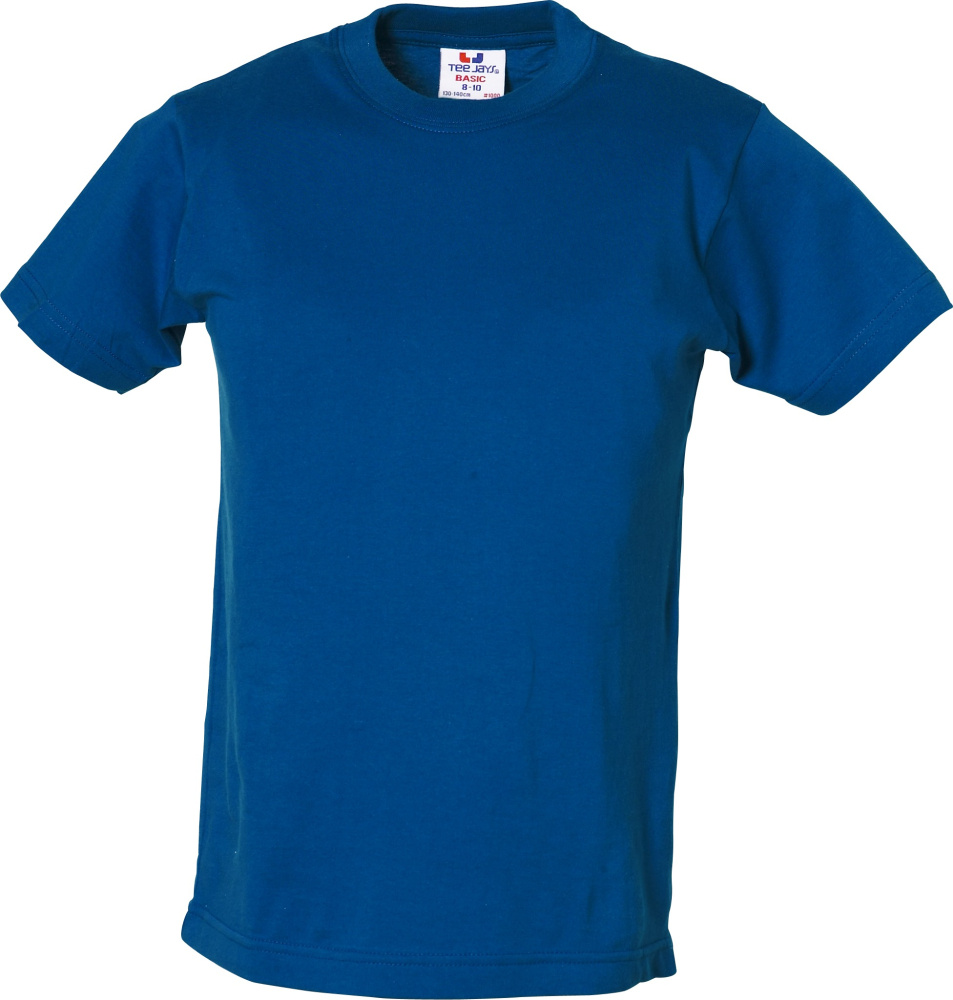 156ad614e61762 Junior Basic Tee (Royal) zum besticken und bedrucken - Tee Jays - T ...