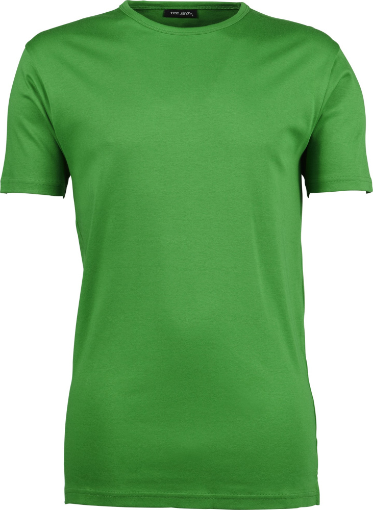 Mens Interlock Bodyfit T-Shirt (Spring Green) for embroidery and ... 81050eecd7