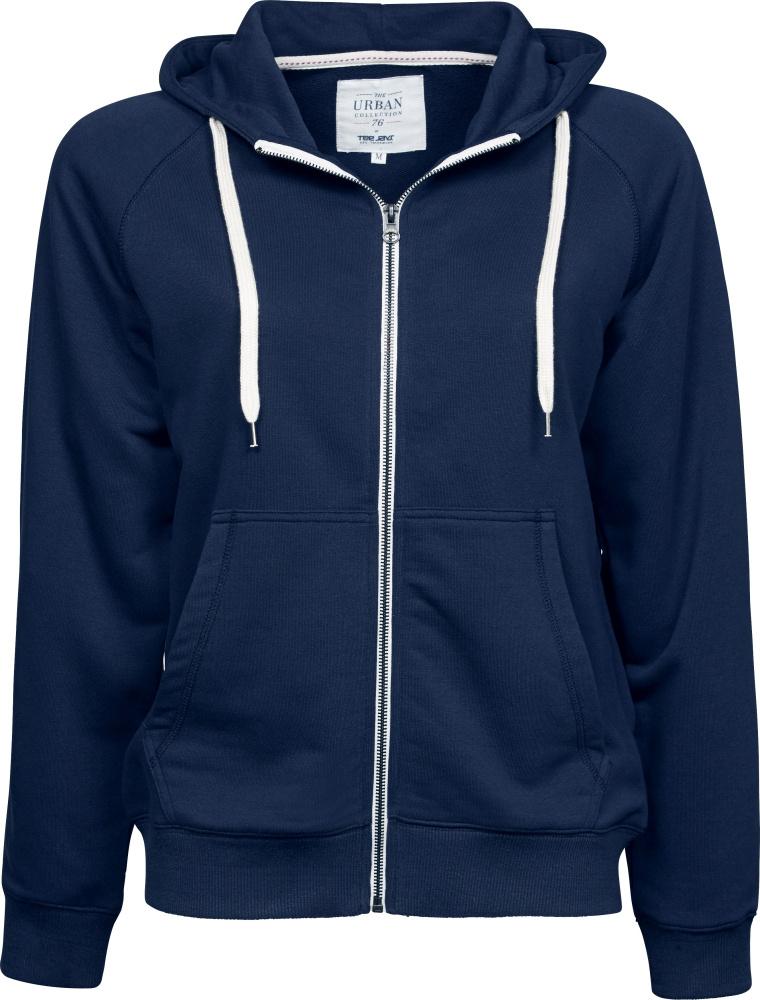 Ladies Urban Zip Hoodie Jacket (Navy) for embroidery and printing ... 3d454dc0584d