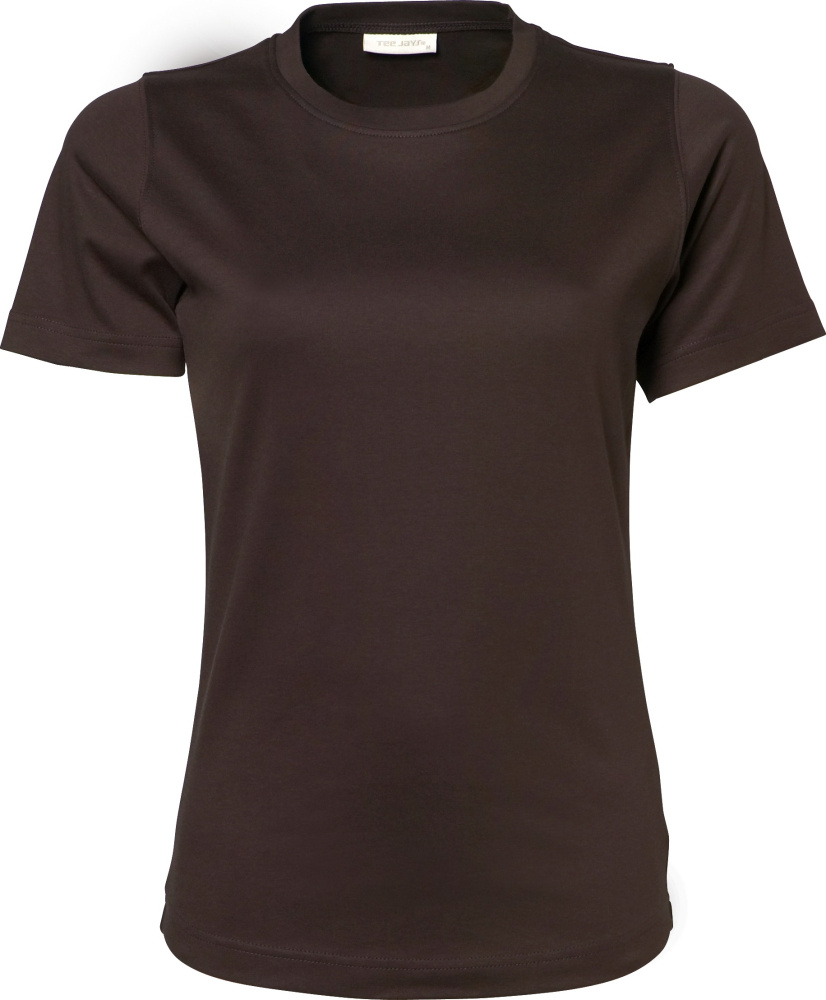 Ladies Interlock T-Shirt (Chocolate) for embroidery and printing ... c9040d1cb8